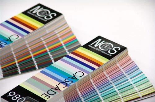 Carta de colores NCS 980. Paleta de colores profesional. NCS COLOUR