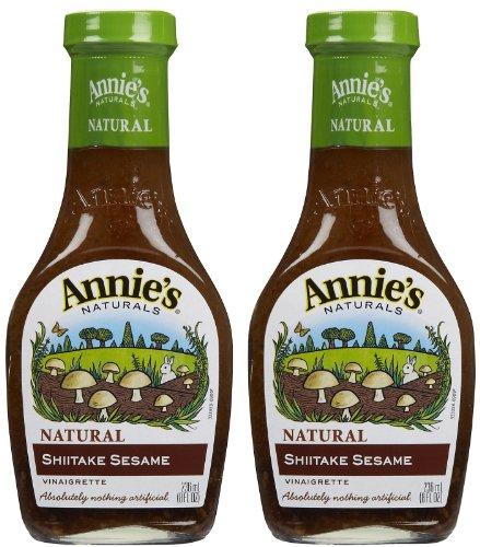 Mushroom Homegrown - Annie's Homegrown Shiitake & Sesame Vinaigrette, 8 oz, 2 pk