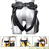 Transfer Gait Belt Multifunctional Nursing Belt, Walking Belt with Loops Transfer Belt Walking Gait Belt with Leg Loops Nursing Safety Assist Device Aide Transfer Sling for Elderly Disabled Physical