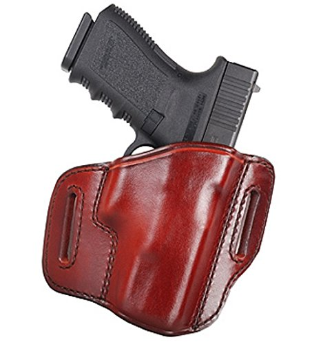 Don Hume H721OT Holster Right Hand Brown 4.25' 1911 Commander Leather J336104R