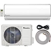 Klimaire 24,000 BTU Ductless Mini-Split Inverter Air Conditioner Heat Pump System with 16-ft. Installation Kit (230V) 5.5 SEER