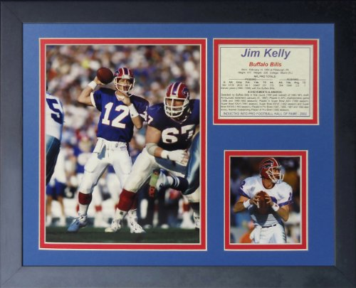 """Legends Not in a million years Die """"Jim Kelly"""" Framed Photo Collage, 11 x 14-Inch"""