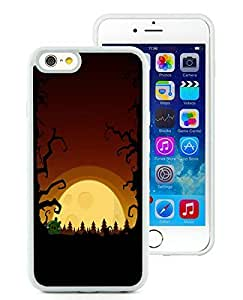 Fashion Style iPhone 6 Case,Halloween White iPhone 6 4.7 Inch TPU Case 3