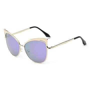 Mode Katze Auge Persönlichkeit Trend Sonnenbrille Brille Sonnenbrille , Weiss Weiss
