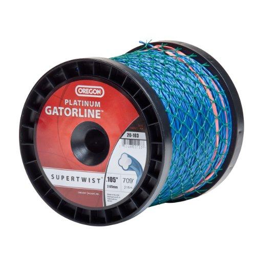 Oregon Gatorline Trimmer Line - Oregon 20-103 Platinum Gatorline 3-Pound Donut String Trimmer Line 0.105-Inch Gauge