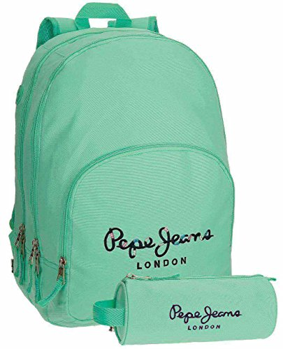 19 School 6682454 Turquoise Harlow Green cm Blue 42 Jeans Pepe liters bags 44 t1qnw0TF