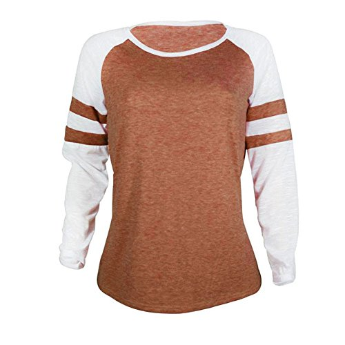vtements Tops Longue Dames Walaka Chemisier Femmes Manche Mode Orange Tee Shirt pissure qIx0Iwf7a8