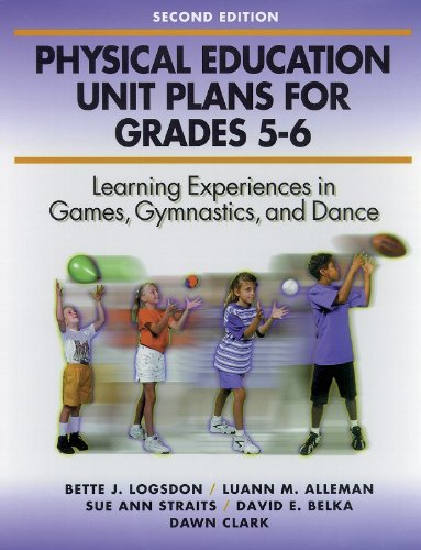 Physical Education Unit Plans for Grades 5 6 2nd
