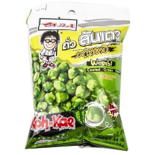 - Koh-Kae, Wasabi Coated Green Peas, net weight 35 g (Pack of 6 pieces) / Beststore by KK8