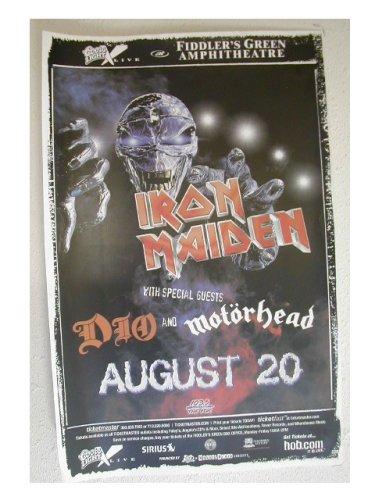 Iron Maiden Ronnie James Dio Handbill Poster