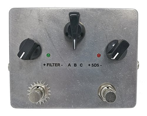 Funny Cat Harmonic Mover & Soft Distortion Sustainer AG-5 Guitar Pedal by 3pdt