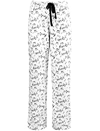 Women's Cotton Knit Jersey Pajama Lounge Bottoms, Boxers and Pants