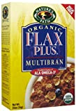 Nature's Path Organic Flax Plus Flakes, Cereal, 35-Ounce Boxes (Pack of 3)