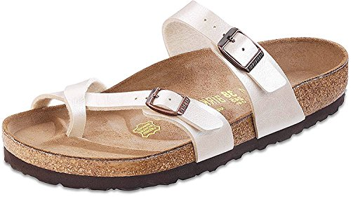 Birkenstock Women's Mayari Antique Lace Birko-Flor Sandal 38 R (US Women's 7-7.5) by Birkenstock