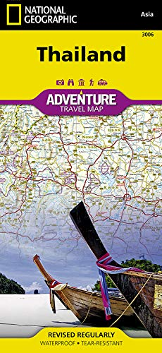 Geographic Paper Adventure National Map (Thailand (National Geographic Adventure Map))