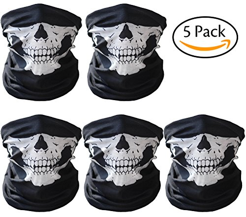 Motorcycle Skull Face Mask - 1