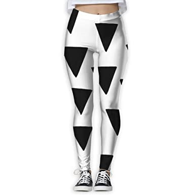 b02dc27950 Image Unavailable. Image not available for. Color: JINYIPI Yoga Pants  Triangle Women's Full-Length Running Workout Leggings