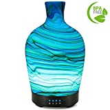 COOSA 100ml Glass Aromatherapy Essential Oil Diffuser Cool Mist...