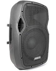 Vonyx AP1500 Altavoz 800 W Negro Alámbrico NL4 - Altavoces (Alámbrico, NL4, 800 W, 40-18000 Hz, 8 Ω, Negro)