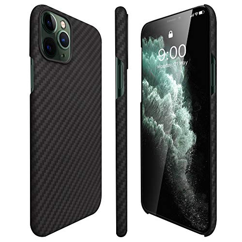 AIMOSIO Compatible with iPhone 11 Pro Case,5.8'' Slim 3D-Grip Aramid Fiber Minimalist Phone Case,2019 [Real Body Armor Material] Non Slip Strongest Durable Snugly Fit Ultra-Thin Snap-on Case