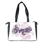 Diaper Bag Purple Princess Floral