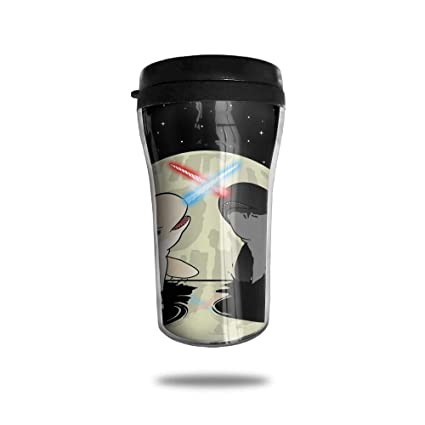 13e7d73dc94 FTRGRAFE Space Laser Narwhals Whale in Moon Travel Coffee Mug 3D Printed  Portable Vacuum Cup,