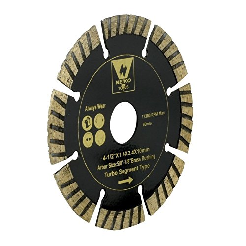 Domeiki Diamond Blades Turbo Sintered Segment 4-1/2