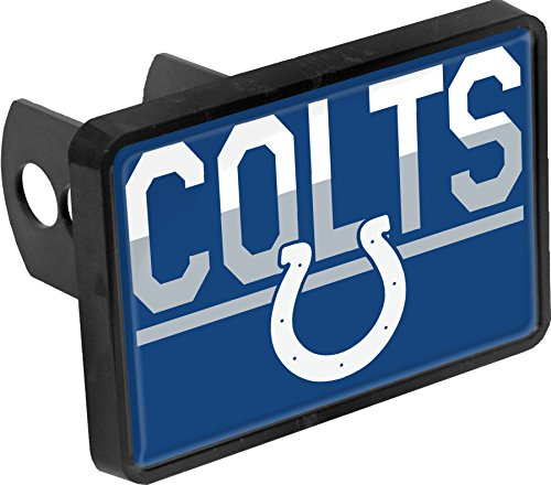 Stockdale Indianapolis Colts Color Duo Tone Universal Hitch Bumper Trailer Cover Football
