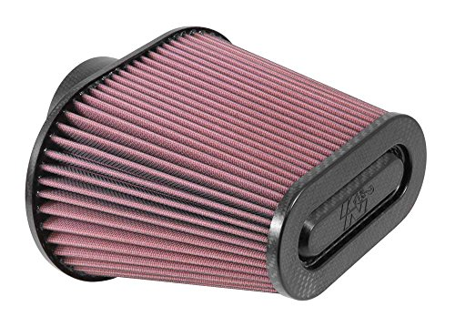 K&N RP-5285 Universal Air Filter with Carbon Fiber Top