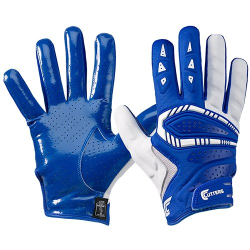 Cutters S652 Gamer 3.0 Padded Receiver Glove-Adult: X-Large-ROYAL ()