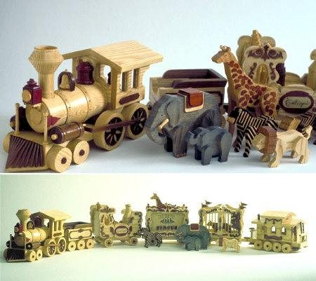 - A Woodworking Scroll Saw Patterns and Instructions Plan to Build Your Own Circus Train Toys