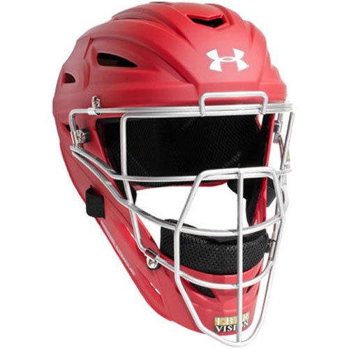Under Armour Professional Matte Finish Adult Baseball Catcher's Helmet by Under Armour
