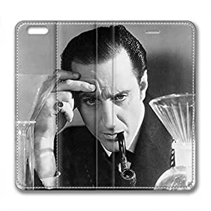 iCustomonline Sherlock Holmes Custom Leather Case for iPhone 6( 4.7 inch) by mcsharks