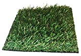 Premium Pro Turf- 4' X 8' Dual color GRASS MAT Synthetic Grass for landscaping, playground areas, poolside, pet areas, sports fields, patios, decks, door mats, etc..