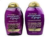 OGX Detoxifying + Pomegranate & Ginger Shampoo 13 Oz and Conditioner 13 Oz