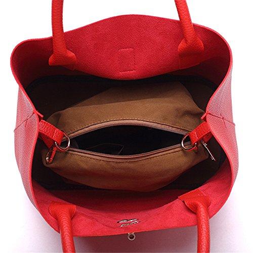 Hombro Mensajero Prueba Espacial Rojo a de Rojo Bolsa Color Agua de de Ocio FangYOU1314 de Ipq4w