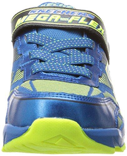 Skechers Mega Blade Jungen Sneakers Blau (BLYL)