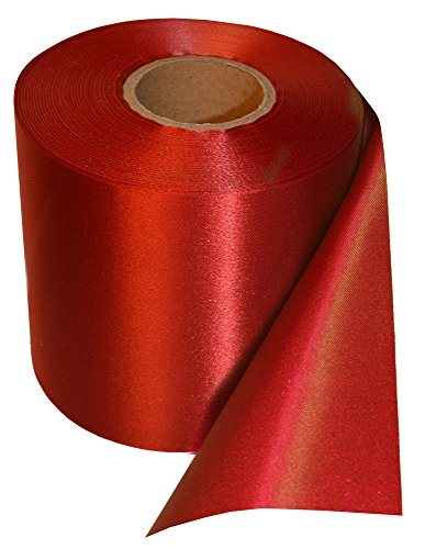 Grand Opening Ribbon 4 inch Wide 25 Yards Long Roll