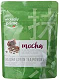 Image of Wickedly Prime Matcha Green Tea, Mocha Flavored, Culinary Grade Powder, 2 Ounce