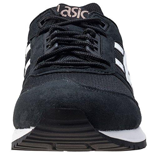 Asics - Baskets Respiratoires Homme Noir / Blanc - Uk 11