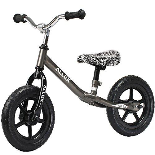 "Allek Balance Bike for Kids & Toddlers, 12"" No-Pedal Run Bic"