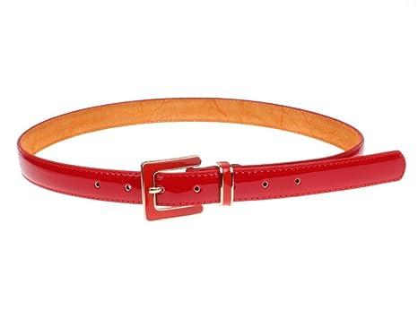 afc1e9cbf YUEER Señoras Cinturones Charol Hebillas Modelos De Mujer Moda Cinturones  Cinturones Longitud 101cm