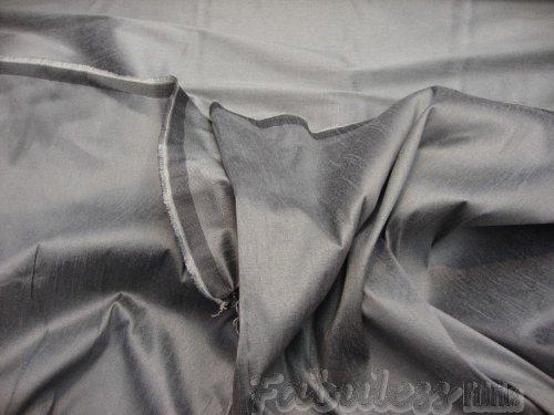 Steel Gray Shantung Dupioni Faux Silk Fabric Per (Dupioni Silk)