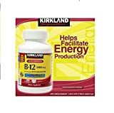 Kirkland Signature Sublingual B-12 5000 mcg, 300 Tablets (Pack of 3)