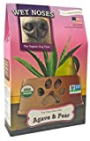Wet Noses All Natural Dog Treats, Made in USA, 100% USDA Certified Organic, Non-GMO Project Verified, Agave & Pear, 14 oz Box