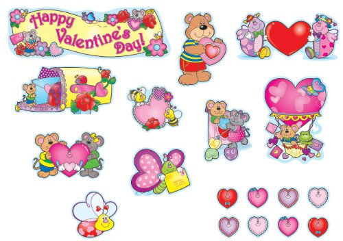 Carson Dellosa Valentine's Day Bulletin Board Set (110060)