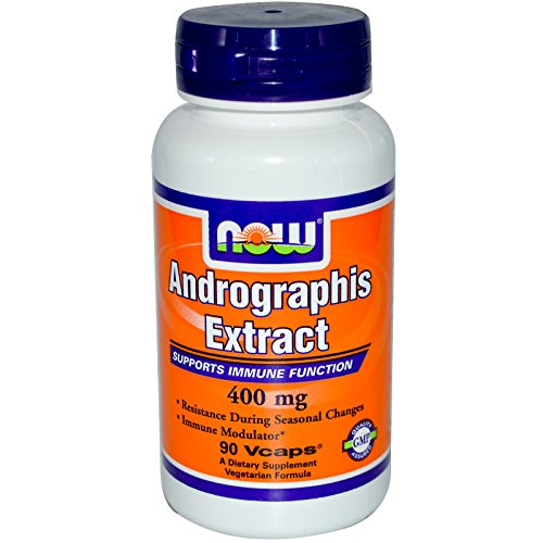 Now Foods Andrographis Extract 400 mg – 90 Vcaps 3 Pack