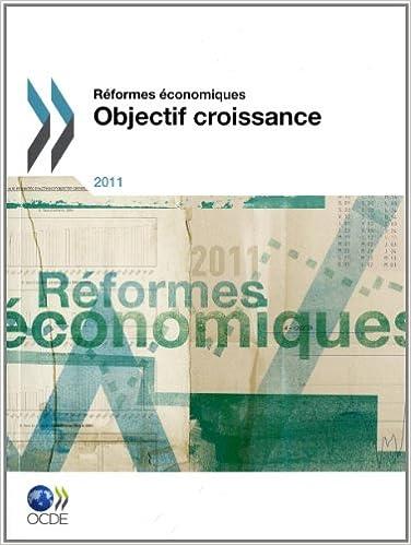 Réformes économiques 2011: Objectif croissance