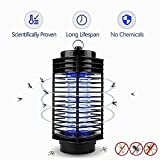 Kangkang Electronic Home Ultra Silent Mosquito Killer Lamp Pest Control Insect Bug Zapper Fly Pest Control Repellent Light LED Pest Traps Light US Plug