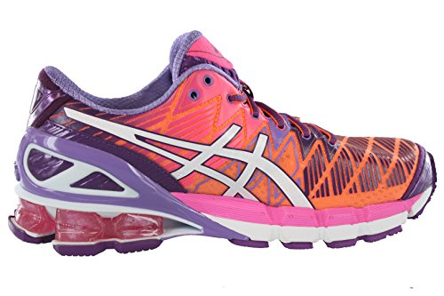 Asic Kvinna Gel-kinsei 5 Löparsko Flash Orange / Vit / Lila